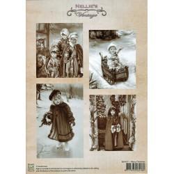 Nellie Vintage A4 - Vánoce
