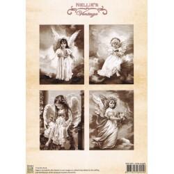 Nellie Vintage A4 - malí andělé
