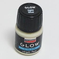 GLOW sv.modrá 30ml - barva svítící ve tmě