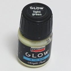 GLOW sv.zelená 30ml - barva svítící ve tmě