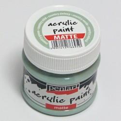 Akrylová barva Pentart 50ml - country zelená, matná