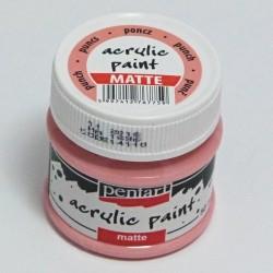 Akrylová barva Pentart 50ml - punčová, matná