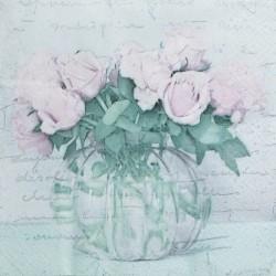 Kytice růží ve váze 33x33