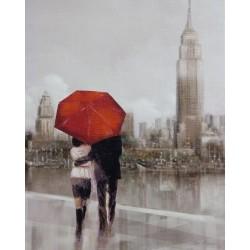 Reprodukce obrazu 20x25 - New York za deště