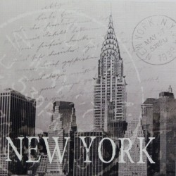 Reprodukce obrazu 16x16 - New York, razítko
