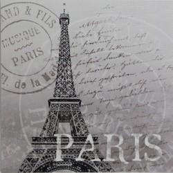 Reprodukce obrazu 16x16 - Paris, razítko