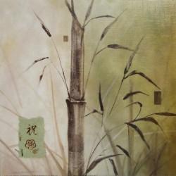 Reprodukce obrazu 30x30 - bambus 1