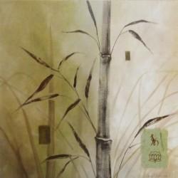 Reprodukce obrazu 30x30 - bambus 2