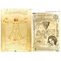 Papír soft A4 Leonardo da Vinci