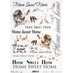 Papír rýžový A4 Home Sweet Home