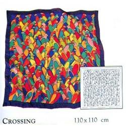 Guttašátek - pareo 110x110 H8 Papoušci