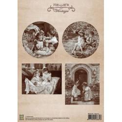 Nellie Vintage A4 - hraní
