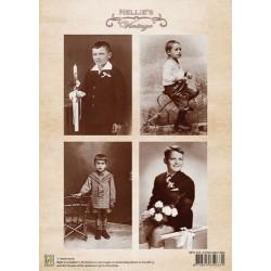 Nellie Vintage A4 - svaté přijímání, chlapci