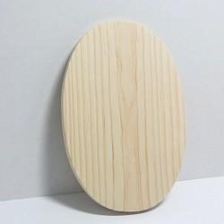 Dřevěná destička oválná 20x13