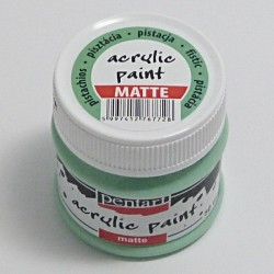 Akrylová barva Pentart 50ml - pistáciová, matná