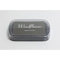 Windflower polštářek - hnědá khaki