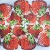 Jahody s cukrem 25x25