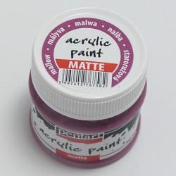 Akrylová barva Pentart 50ml - starorůžová, matná