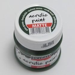 Akrylová barva Pentart 50ml - jedlová zelená, matná