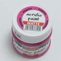 Akrylová barva Pentart 50ml - magenta, matná
