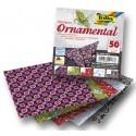 Origami papírky 10x10cm Ornamental