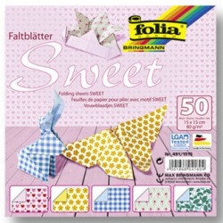 Origami papírky 15x15 Sweet