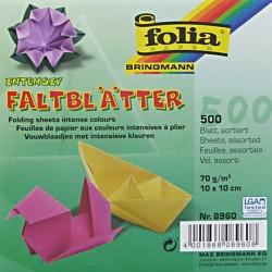 Origami papírky 10x10 mix barev (500 ks)
