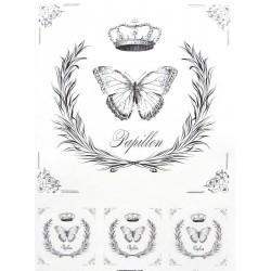 Papír rýžový A4 Papillon