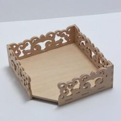 Box vyřezávaný na podtácky 10x10