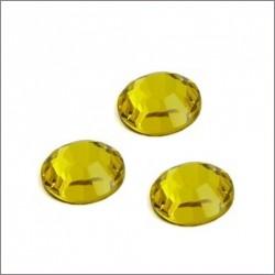 Swarovski štrasové kamínky 3mm - citrine, 10ks