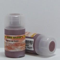 Barva na kůži 20g - červenohnědá