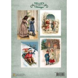 Nellie Vintage A4 - vánoční čas