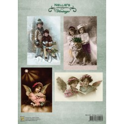 Nellie Vintage A4 - vintage Christmas