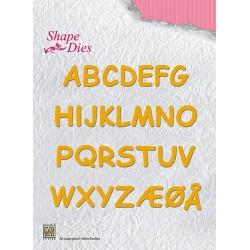 Vyřezávací šablony - abeceda Nellie´s Choice