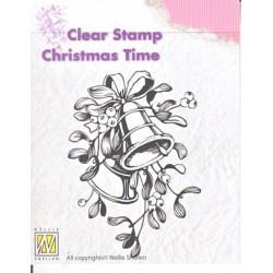Transp.razítko Vánoční zvonky (Nellie Snellen)