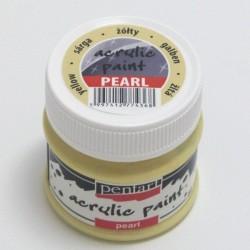 Pearl 50ml žlutá