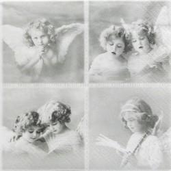Čtyři motivy s andílky 33x33
