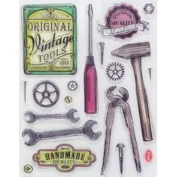 Razítka D101 Nářadí Vintage