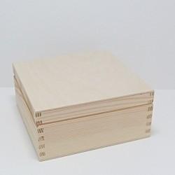 Krabička na čaj 4 komory (bez zámečku)