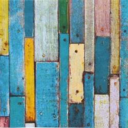 Barevné dřevo 33x33