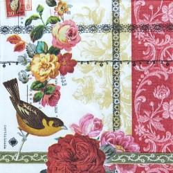 Rose Lace 33x33