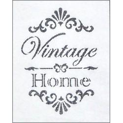 Šablona - Vintage, Home, vel. A4