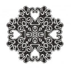 Šablona Cadence 35x25 - Krajkový ornament