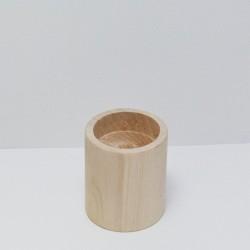Dřevěný svícen malý (kulatý)