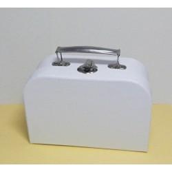 Kufřík bílý menší