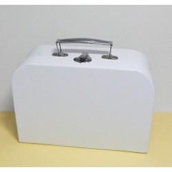 Kufřík bílý větší