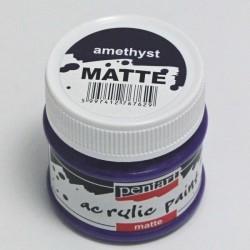 Akrylová barva Pentart 50ml - amethyst, matná