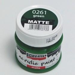 Akrylová barva Pentart 50ml - zelená, matná