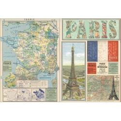 Papír rýžový 48x33 France