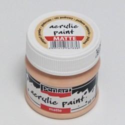 Akrylová barva Pentart 50ml - pudrová růžová, matná